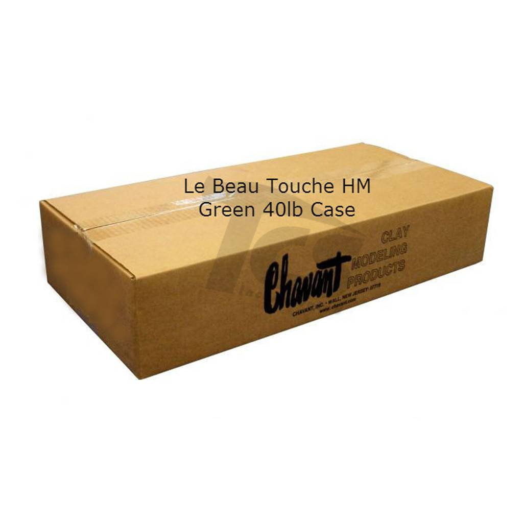 Chavant Le Beau Touche HM Green 40lb Case (2lb Blocks)