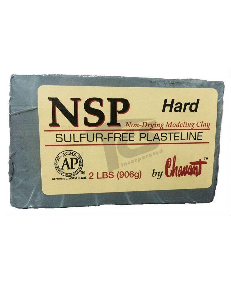 Chavant NSP Hard Green 40lb Case (2lb Blocks)