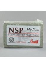 Chavant NSP Medium Green 40lb Case (2lb Blocks)