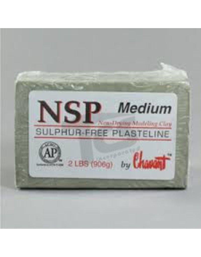 Chavant Chavant NSP Medium Green 40lb Case (2lb Blocks)