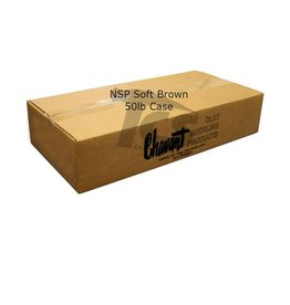Chavant Chavant NSP Soft Brown 50lb Case (10lb Blocks)