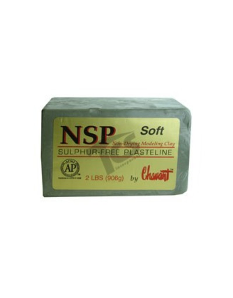 Chavant Chavant NSP Soft Green 40lb Case (2lb Blocks)