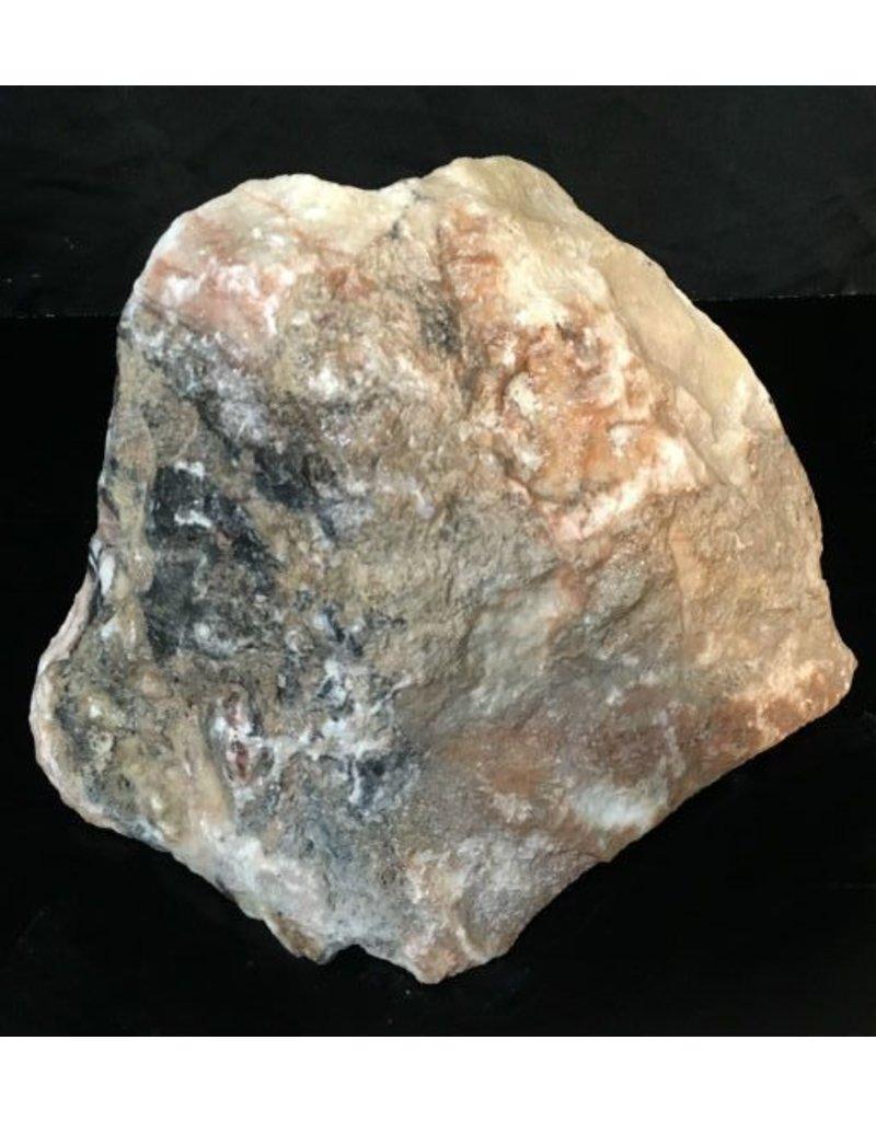 33lb Cream Pink Onyx Stone 10x8x6 #521020