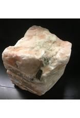 Stone 78lb Peach Translucent Alabaster 11x10x9 #251029