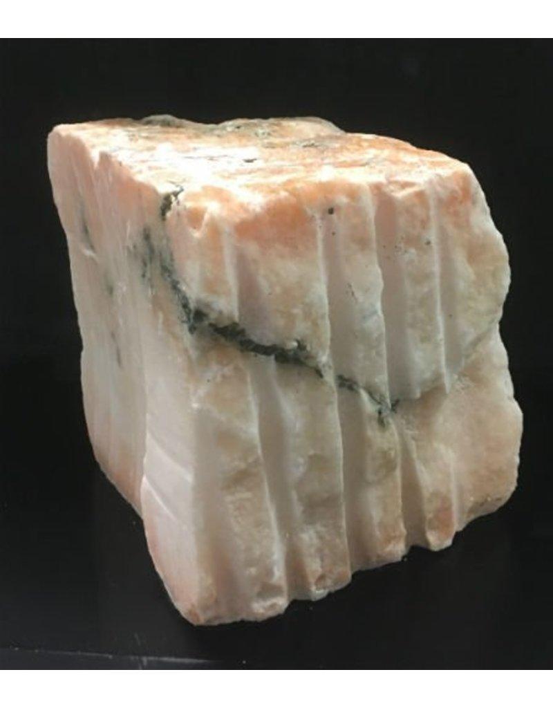 Mother Nature Stone 78lb Peach Translucent Alabaster 11x10x9 #251029