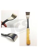#1/#23 Shortbend Flat Wood Chisel  1-5/8'' (40mm)