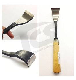 #1/#23 Shortbend Flat Wood Chisel  1-5/8'' (40mm)