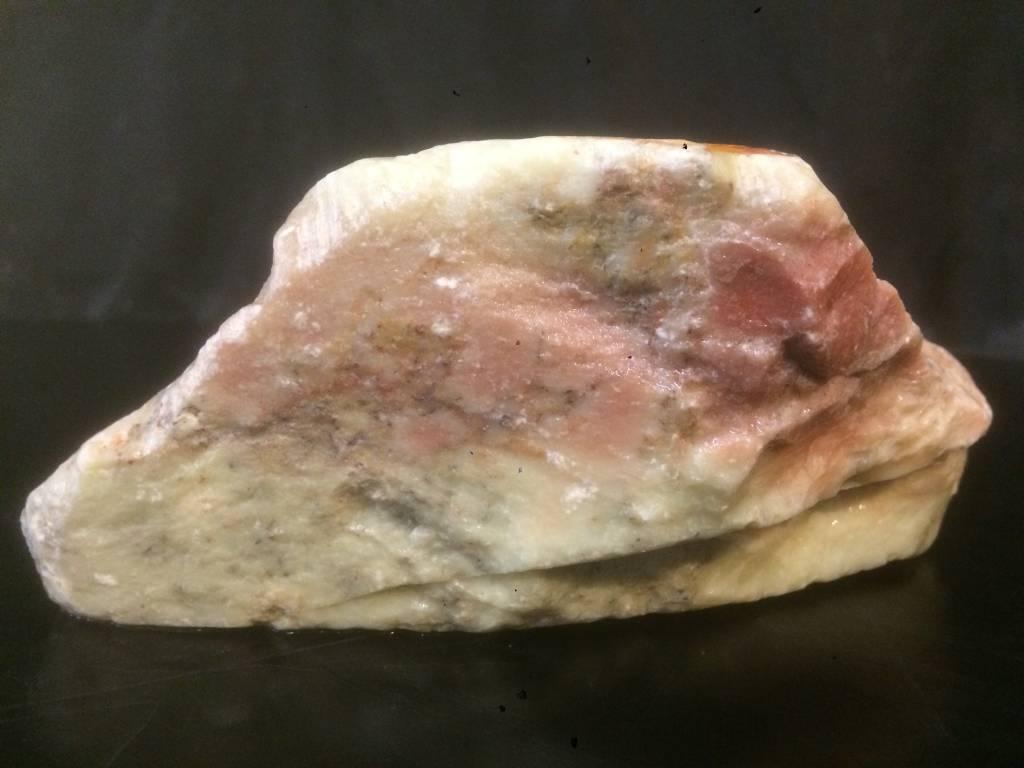 Stone 4lb Gala Red Soapstone 7x4x3 #031021