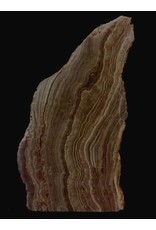 Mother Nature Stone 14lb Brown Banded Onyx Stone 9x6x5 #521037