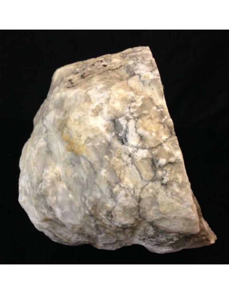 Mother Nature Stone 66lb Mario's Italian Bardiglio Alabaster Boulder 12x12x10 #554436