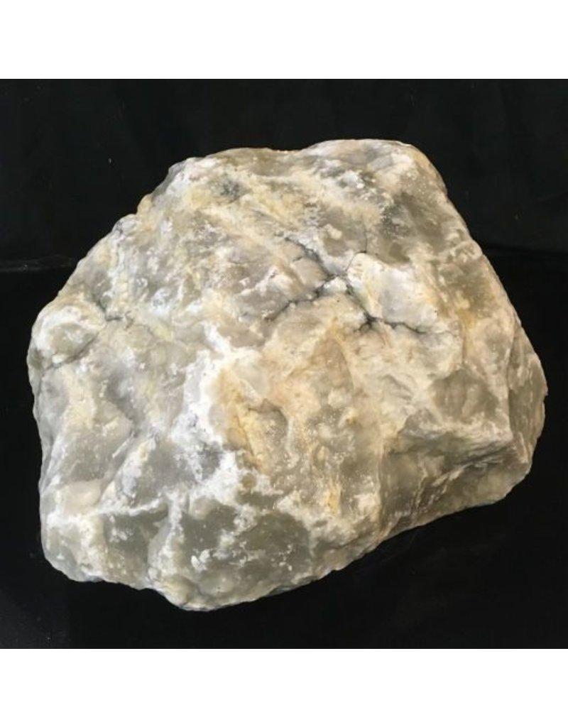 Stone 137lb Mario's Italian Bardiglio Alabaster Boulder 19x17x11 #554438