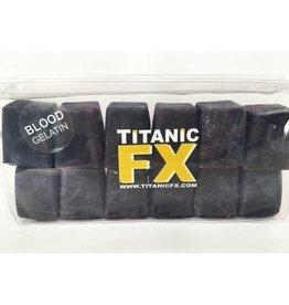 Titanic FX TITANIC FX PROSTHETIC GELATIN - Blood COLOUR (1KG)