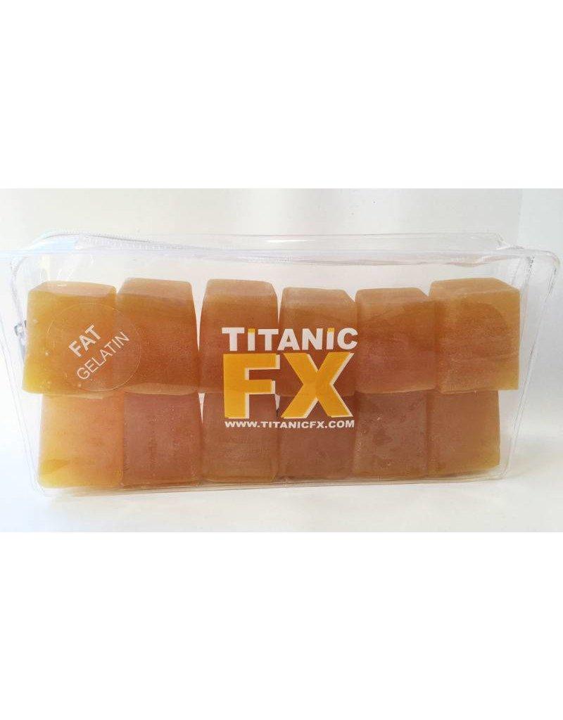 Titanic FX TITANIC FX PROSTHETIC GELATIN - Fat COLOUR (1KG)