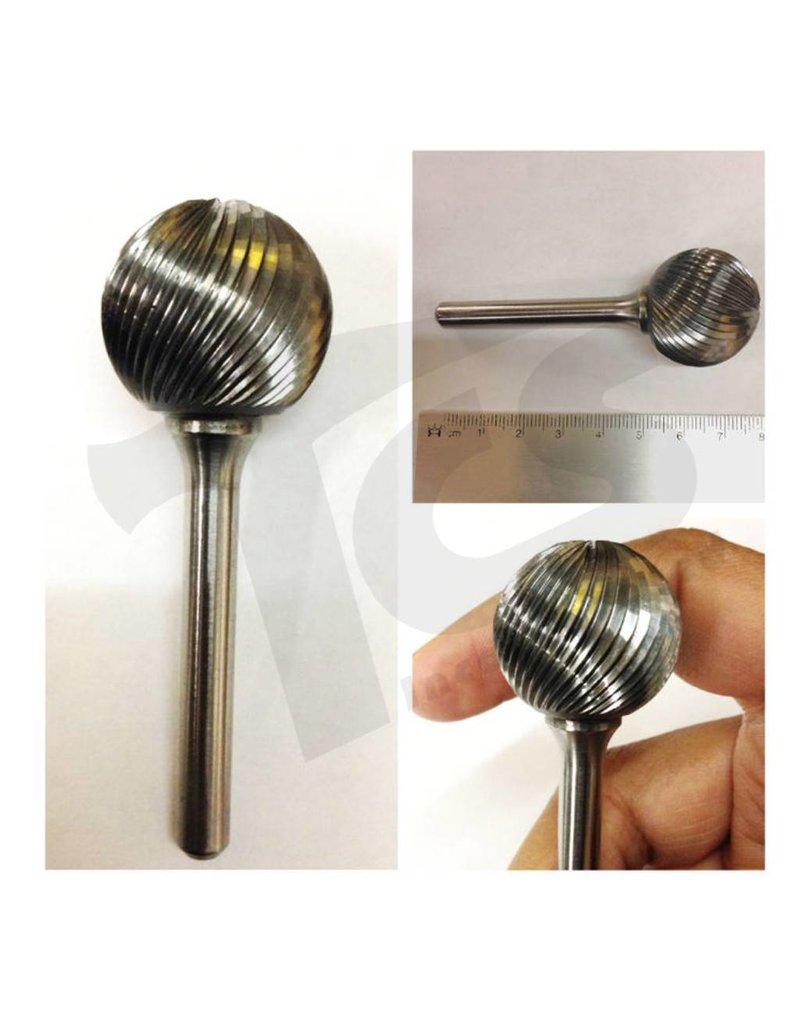Sphere Single Cut Carbide Burr SD-9