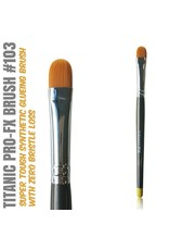 Titanic FX TITANIC PRO-FX BRUSH 103 - MEDIUM FILBERT BRUSH