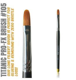 Titanic FX PRO-FX Brush 105 - Long Filbert Brush