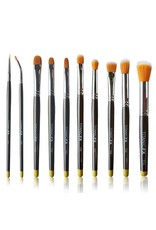 Titanic FX TITANIC PRO-FX FULL BRUSH SET (INCLUDING ALL 10 BRUSHES, ZIP-UP POUCH & MIXING PALETTE)