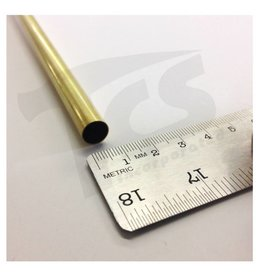 K & S Engineering Brass Tube 3/8''x.014''x36'' #1153