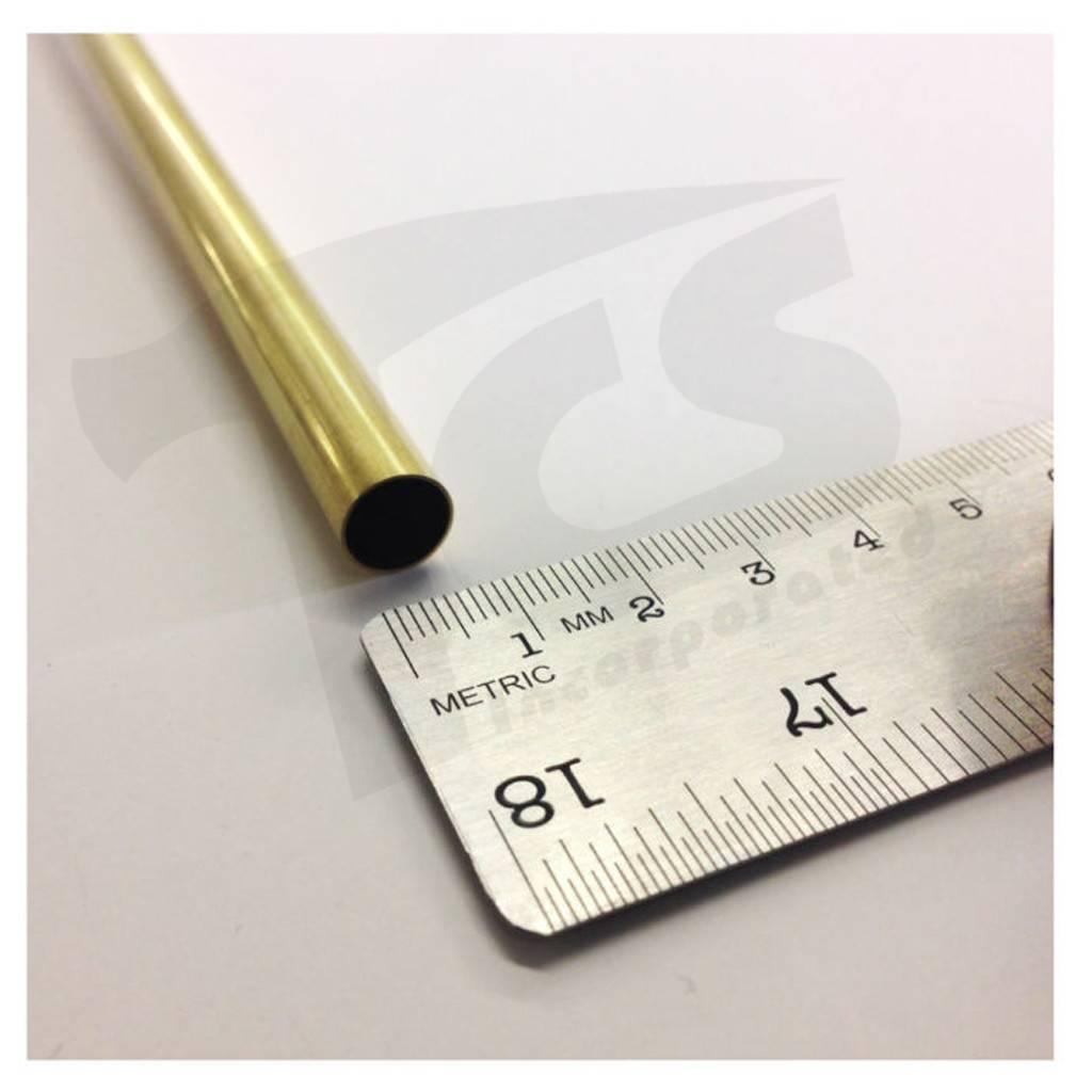 K & S Engineering Brass Tube 3/8''x.014''x36'' #1153