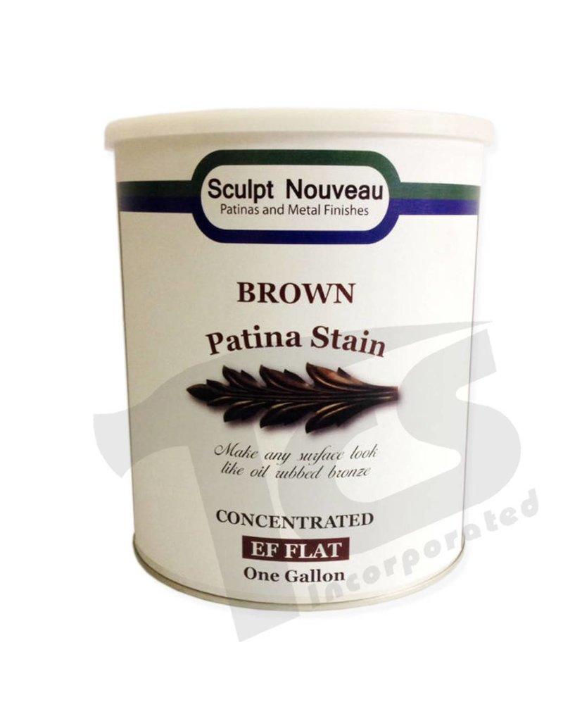 Sculpt Nouveau Brown Patina Stain EF Matte Gallon