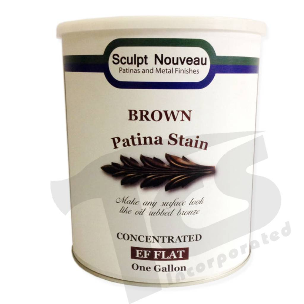Sculpt Nouveau Patina Stain EF Matte Brown Gallon