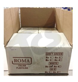 Sculpture House ROMA #2 White Plastilina 40lb case (20 2lb bricks)