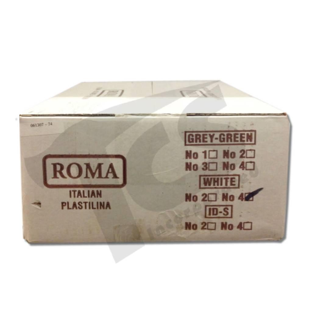 Sculpture House ROMA #4 White Plastilina 40lb case (20 2lb bricks)