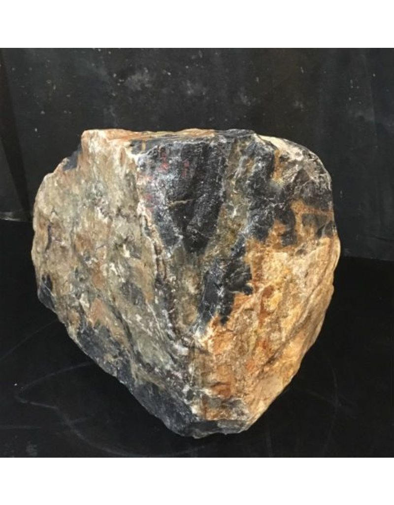Stone 64lb Picasso Marble 11x10x7 #411017