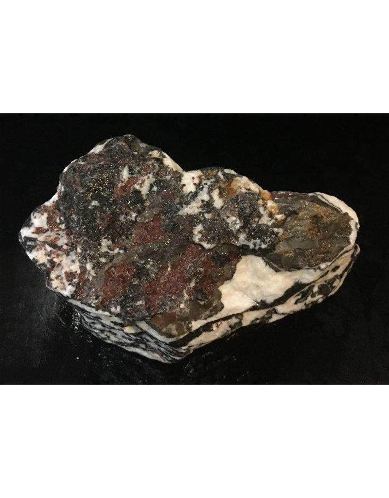 Stone 16lb White Tiger Marble 8x6x4 #401003