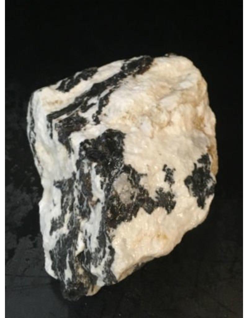 Stone 17lb White Tiger Marble 9x7x4 #401006