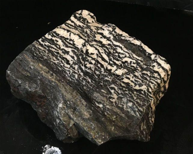 Stone 22lb White Tiger Marble 9x8x4 #401008