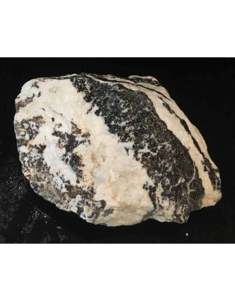 Stone 32lb White Tiger Marble 14x7x5 #401010