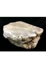 Stone 70lb Mario's White Translucent Alabaster 14x13x6 #101047