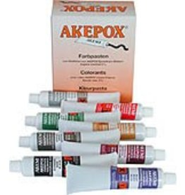 Akemi Akepox Epoxy Color Paste Set of 8