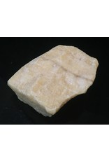Stone 6lb Cream White Banded Onyx Stone 5x5x2 #521040