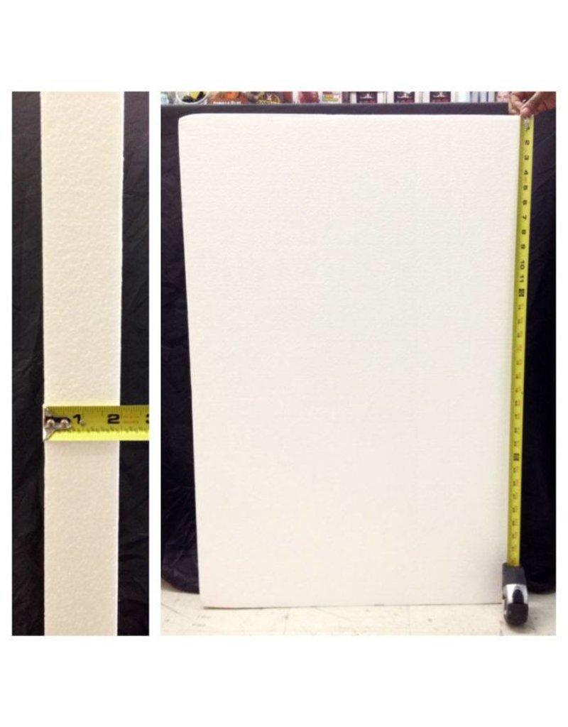 White Bead Foam (1.5lb) 36''x24''x2''