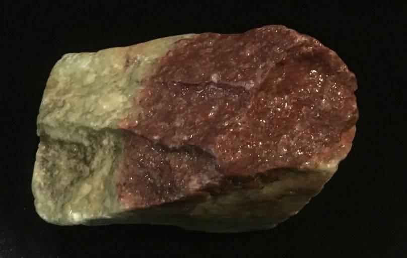 Stone 2lb Gala Red Soapstone 3x2x2 #031030