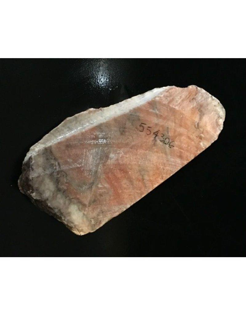 Stone 3lb Orange Alabaster Boulder 8x3x1 #554306