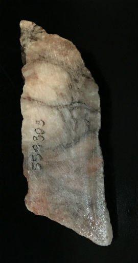 Stone 1lb Orange Alabaster Boulder 6x2x1 #554303