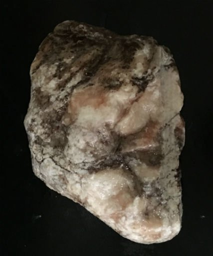 Stone 2lb Orange Alabaster Boulder 4x3x1 #554301