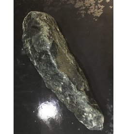 Mother Nature Stone 3lb Indian Black Soapstone 10x3x2 #466305