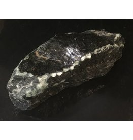 Mother Nature Stone 7lb Indian Black Soapstone 10x4x3 #466303