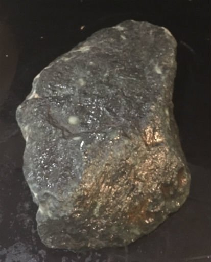 Stone 21lb Indian Black Soapstone 14x8x2 #466302