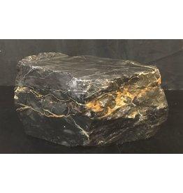 Mother Nature Stone 27lb Portoro Marble 8x6x6 #391006