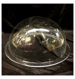 "Plexiglass Dome Clear 16"" Dia 1/4"" Thick"