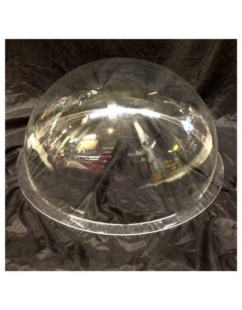 "Plexiglass Dome Clear 20"" Dia 1/8"" Thick"
