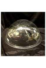 "Plexiglass Dome Clear 18"" Dia 1/8"" Thick"