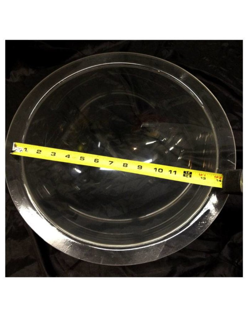 "Plexiglass Dome Clear 14"" Dia 1/4"" Thick"