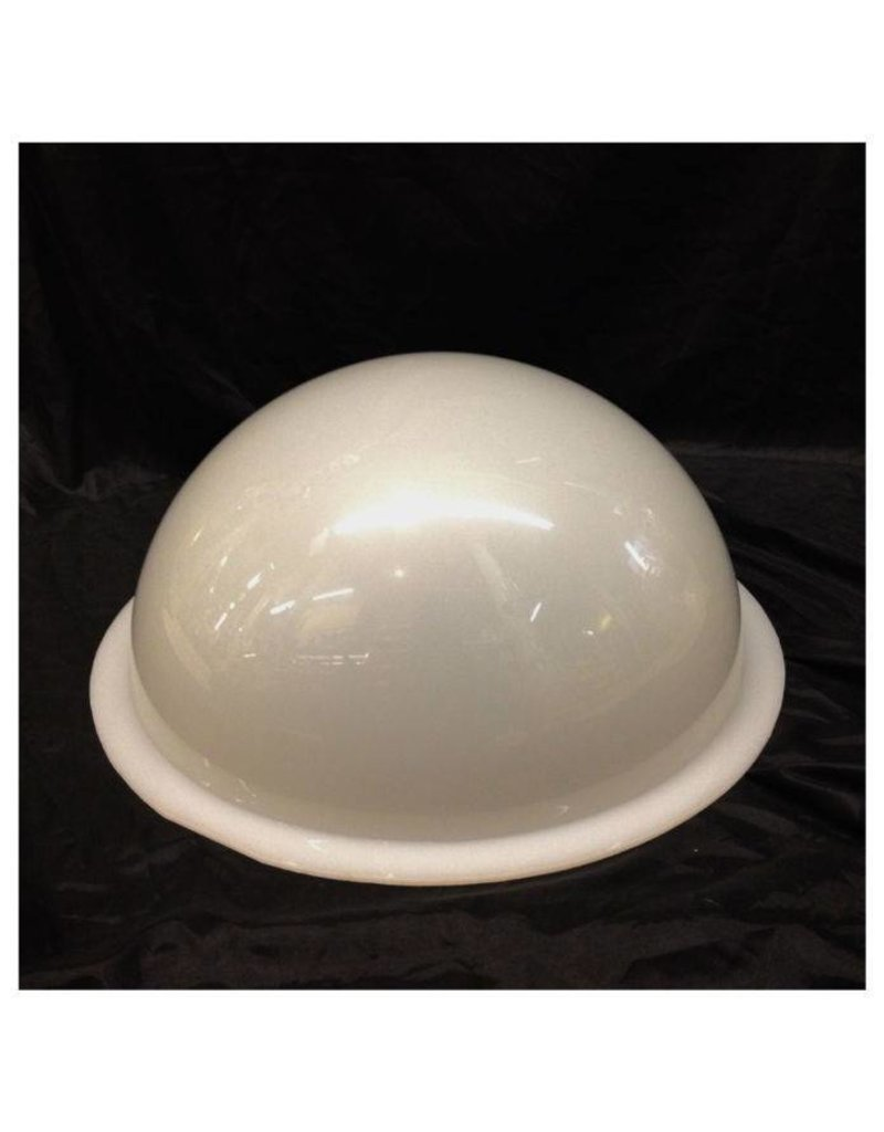 "Plexiglass Dome Milky 16"" Dia 1/4"" Thick"