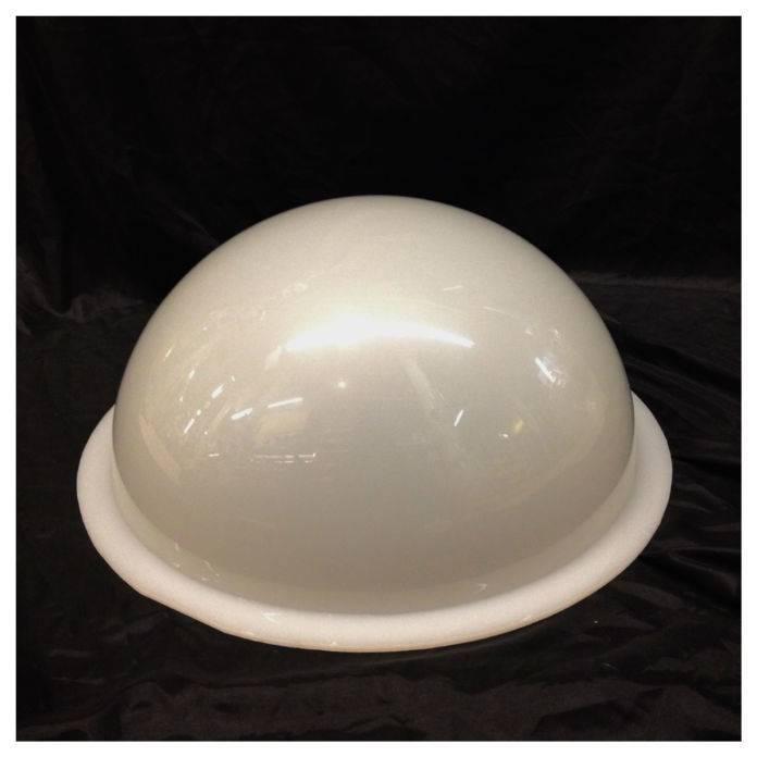 "Plexiglass Dome Milky 16"" Dia 1/4"" Thick"